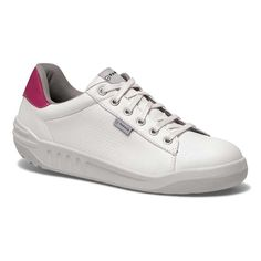 539212618cc8b Parade Jamma Womens VPS White and Pink Ladies Work Safety Trainers Safety  Footwear