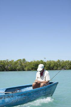 Fishing in Cuba  Photo by Eric Kiel