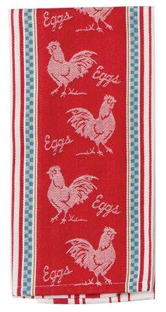 Jacquard Tea Towel - Farm Nostalgia