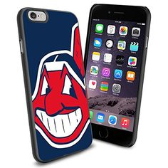 MLB Cleveland Indians Chief Wahoo Baseball, Cool iPhone 6 Smartphone Case Cover Collector iPhone TPU Rubber Case Black Phoneaholic http://www.amazon.com/dp/B00U0NAMKK/ref=cm_sw_r_pi_dp_BnJnvb1FP3JE5