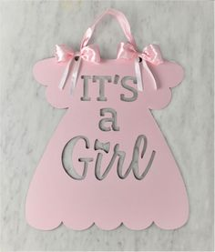 Baby announcement It's A Girl newborn announcement sign - - it's a girl announcement, Baby Shower Deco, Baby Shower Balloons, Baby Shower Parties, Welcome Baby Signs, Baby Door Signs, Welcome Home Baby, Newborn Announcement, Its A Girl Announcement, Baby Announcements