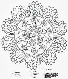 Napperon fleur