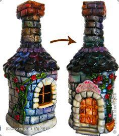 Wine Bottle Glasses, Old Wine Bottles, Recycled Glass Bottles, Wine Bottle Art, Painted Wine Bottles, Lighted Wine Bottles, Glass Jars, Decorated Bottles, Beer Bottle Crafts