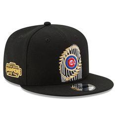 db9f6b423a6 Chicago Cubs New Era 2016 World Series Champions Trophy 9FIFTY Snapback  Adjustable Hat - Black
