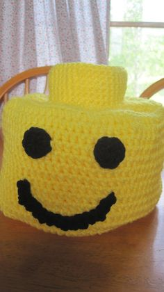 Hey, I found this really awesome Etsy listing at http://www.etsy.com/listing/151224299/crochet-lego-head-hat