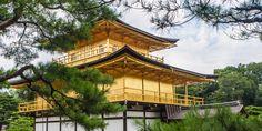 El templo Kinkakuji (金閣寺) o Pabellón Dorado es uno de los templos más famosos de Kioto y Patrimonio de la Humanidad por la Unesco (1994). Wallpapers, Mansions, House Styles, Home Decor, Temples, Celebrity, Decoration Home, Room Decor, Wall Papers