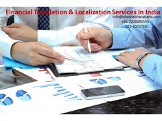 Financial #Translation & #Localization Services In India ~ https://goo.gl/HgrMpv Please courtesy: https://twitter.com/BhashaBharati #Translation #Localization