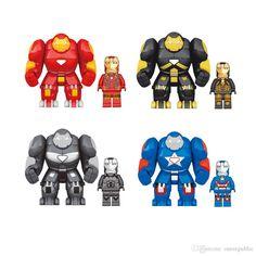 2016 OK 1041 Building Blocks Hulk Buster Iron Man Minifigures Super Heroes Avengers Assemble Minifigures Bricks Mini Figure Toy 2095
