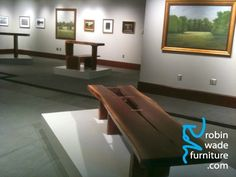 """Robin Wade Furniture is a celebration of nature—a melding of a forward thinking commitment to the environment and a quiet, harmonious design aesthetic. From his """"slow studio"""" in North Alabama, award-winning wood artist Robin Wade designs and crafts one-of-a-kind handmade furniture."""