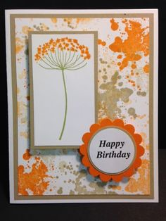 Wanda Pettijohn: My Creative Corner!: A Gorgeous Grunge Summer Silhouettes Birthday - Birthday Cards For Women, Handmade Birthday Cards, Happy Birthday Cards, Hand Made Greeting Cards, Making Greeting Cards, Ppr, Scrapbook Cards, Scrapbooking, Card Sketches