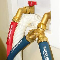 floodchek washing machine hoses problems