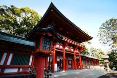 大宮氷川神社の写真斜め