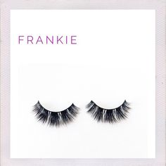F R A N K I E   • Frankie's cluster design makes for a natural yet classic effect. This dreamy lash is irresistible.  • 10mm long  • 100% mink hair lashes on cotton band  • Minka Lashes are handmade, easy to apply and can be worn up to 25 times  • Packaged in signature Minka box perfect for gifting
