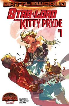Star-Lord and Kitty Pryde (2015-) #1: Star-Lord and Kitty Pryde, finally in their own series together! But are they 'together' together? And is this the Kitty Pryde that Peter loves or one from a completely different reality? This series takes place right in the thick of things on Battleworld and is sure to be a wild ride!
