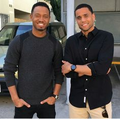 Terrence J and Michael Ealy
