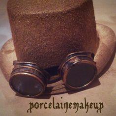 Steampunk hat Steampunk Hat, Hats, Makeup, Maquillaje, Hat, Face Makeup, Make Up, Hipster Hat, Bronzer Makeup