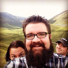 Rob & Tim in Alaska - Aug 2014