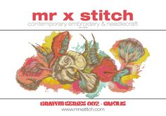 Graffiti Cross Stitch 002 Caktus by MrXStitch on Etsy. This is the second in the Graffiti Series, featuring the organic illustrative style of italian artist Caktus. We realise that different people like different pattern styles, so each Mr X Stitch design comes with three patterns: - Symbols - Colour Blocks - Symbols and Colour Blocks. The pattern chart comes with instructions, floss list and a mini-poster of the design as well!