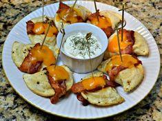 bacon cheese pierogi #MrsTsPierogies #sponsored #MC