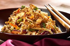 Kraft Crunch Asian Salad -  Very yummy and low calorie!