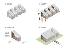 Galería - Sistema constructivo modular de hormigón / SAAS - Samuel Gonçalves - 11