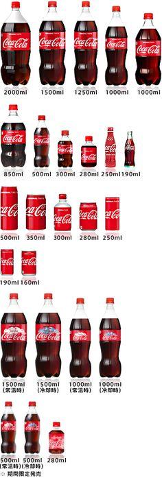 コカ・コーラの製品情報をご覧になれます。