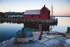 Bearskin Neck, Rockport MA again with the kids....no place like home in New England