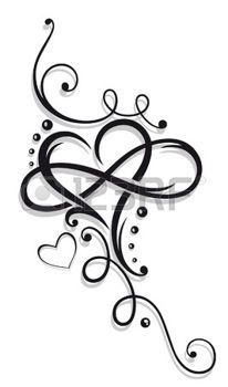 tattoo+hart%3A+Heart+and+infinity%2C+Tattoo+for+Valentines+Day #TattooIdeasForKidsNames