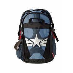 Captain America Kids Backpack School Book Laptop Meal Lunc Suit Up Better Built