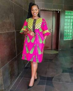 Short African Dresses, Latest African Fashion Dresses, African Print Dresses, African Print Fashion, Nigerian Fashion, African Shirts, Ghanaian Fashion, African Print Dress Designs, Traditional African Clothing
