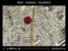 Dickens's dark London app