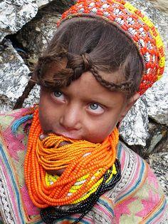 Kalash girl by Nilofar Mughal by bbgtunein, via Flickr
