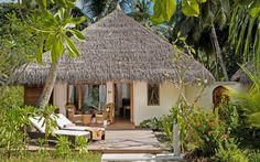 Beach Villa at Kuramathi Island resort in the Maldives