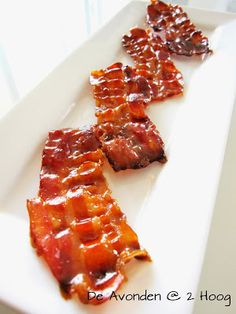 De Avonden @ 2 Hoog: Maple Glazed Bacon