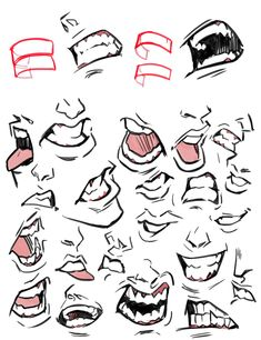 Drawing The Human Figure - Tips For Beginners - Drawing On Demand Mouth Drawing, Nose Drawing, Comic Drawing, Drawing Poses, Drawing Tips, Cartoon Drawings, Body Reference Drawing, Anatomy Reference, Art Reference Poses