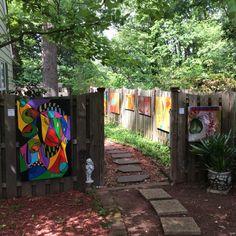 Art show May of 2015, Greensboro, NC