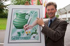 Gmundner Keramik erhält Sonderbriefmarke