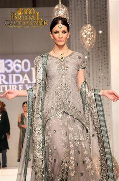 Pakistani Bridal Couture Week 2011 Pakistan #wedding #shaadibazaar