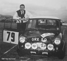 GRX 5 D in it's lightweight form for the Tou de Corse of 1967, retired early due to a slipping fan belt causing overheating.