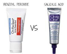 benzoyl peroxide vs salicylic acid: which one should you use?