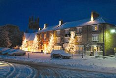 A Country House Christmas - Celebrate the Holidays at a UK Country Hotel: A Yorkshire Village Christmas at The Black Swan