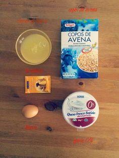 receta tortitas avena. Healthy Eating Recipes, Baby Food Recipes, Healthy Life, Healthy Snacks, Cooking Recipes, Tortitas Light, Breakfast Tea, Dukan Diet, Pancakes And Waffles