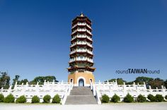 Ci En means kindness, grace and mercy in Mandarin, and Ci En pagoda (慈恩塔) was built in 1969,  finished in 1971, and in memory of Chiang Kai-shek's mother. From parking lot to pagoda, it's 570 meters and there is a number on the stone stairs for every hundred meters. Ci En Pagoda is located above 954 meters sea level, and the pagoda is 46 meters high. Combined these two height and we know the height of peak of the pagoda is 1000 meters. It's the highest architecture in Sun Moon Lake. You can…