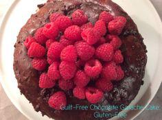 Guilt-Free Chocolate Ganache Cake: Gluten-Free  #glutenfree #cake #chocolate #guiltfree #yummy #valentinesday #delicious #dessert #sweets #recipe