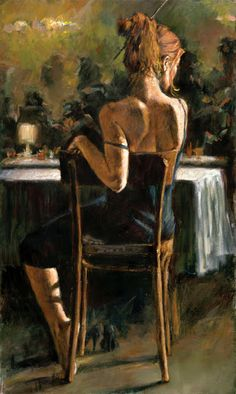 """Fine Art and You: Woman Paintings By Argentinian Artist- """"Fabian Perez"""". I love him. Would love to own a piece by him."""