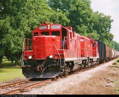 RailPictures.Net Photo: GFRR 5002 Georgia Florida EMD GP10 at Albany, Georgia by David Godwin