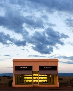 Prada Marfa: an art installation by Elmgreen & Dragset in Marfa, Texas. I have to go this summer....and need this print as well.  In love!