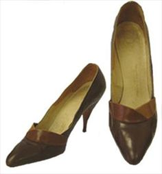 Pointed Toe Vintage 50s Shoes
