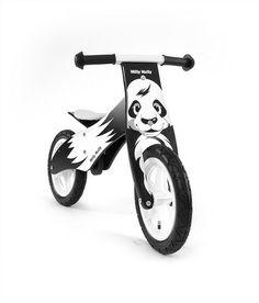 Bici bambini in legno senza pedali Panda - www.e-funkybaby.it #efunkybabyit #bici #bicicletta