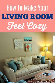 These Living Room Ideas are the best tips to make your living room feel cozy, definitely trying these! Who doesn't want to find cozy living room decor on a budget? Create a warm and welcoming Living Room without breaking the bank! #livingroom #livingroomideas #cozylivingnroom #livingroomdecor #livingroominspiration